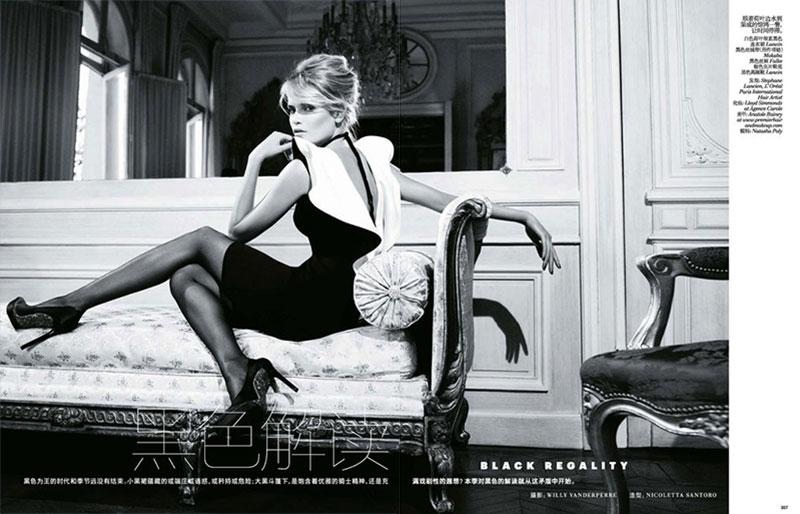 Наташа willy1 Наташа Поли является Очаровательные в Vogue China ноябрь 2012 Вилли Вандерпер