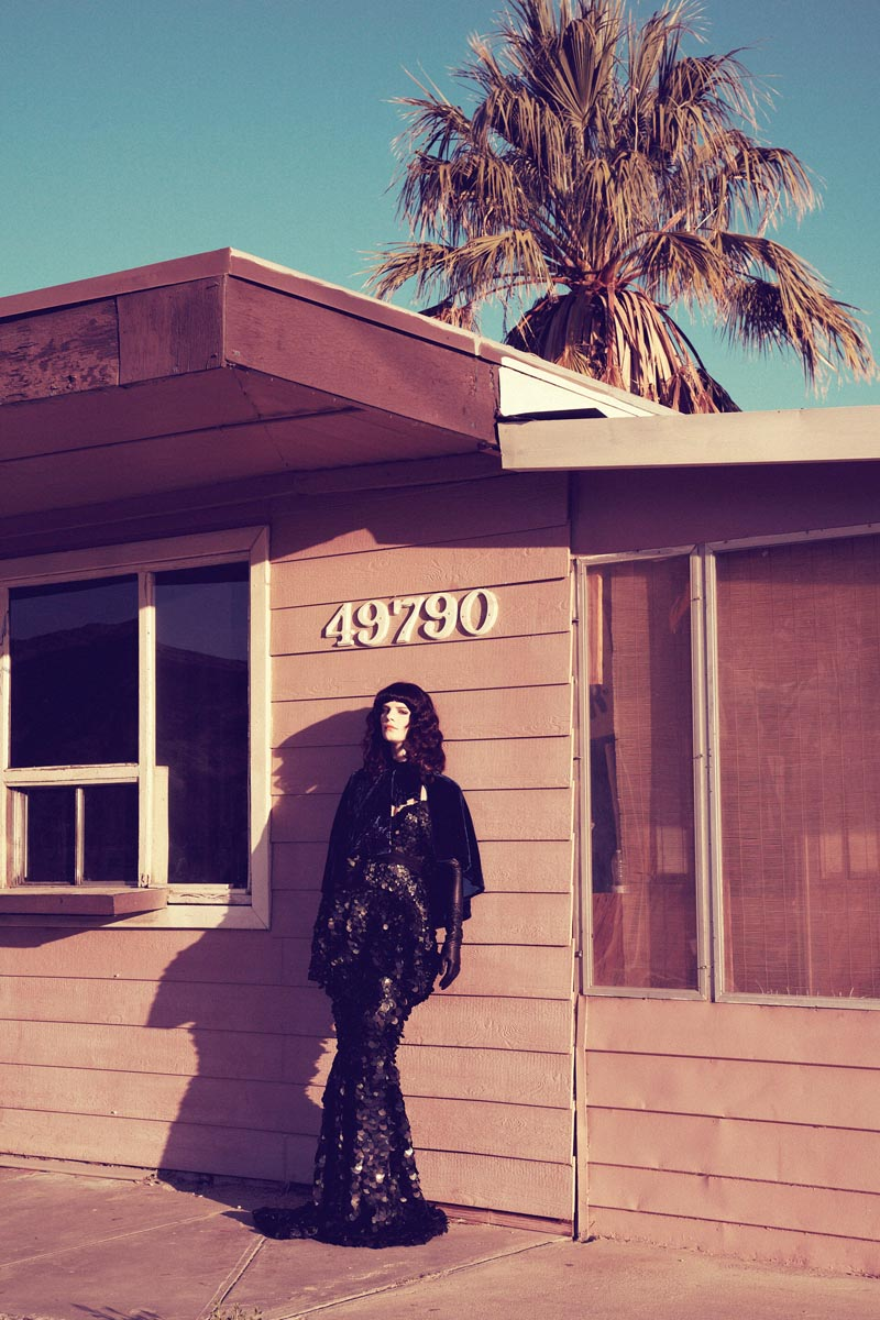 querelle jansen2 Querelle Jansen Takes a Road Trip for Numéro #138 by Sofia and Mauro