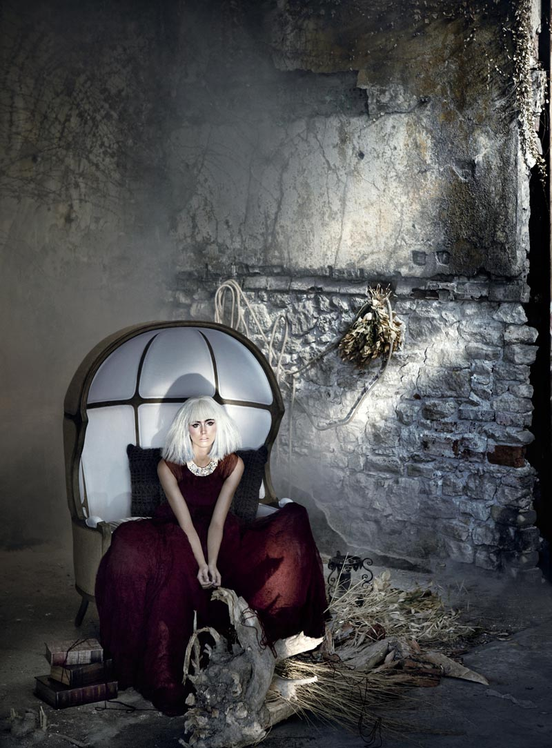 rose10 Koray Парлак Побеги Гламур с краю для Elele Magazine Ноябрь 2012
