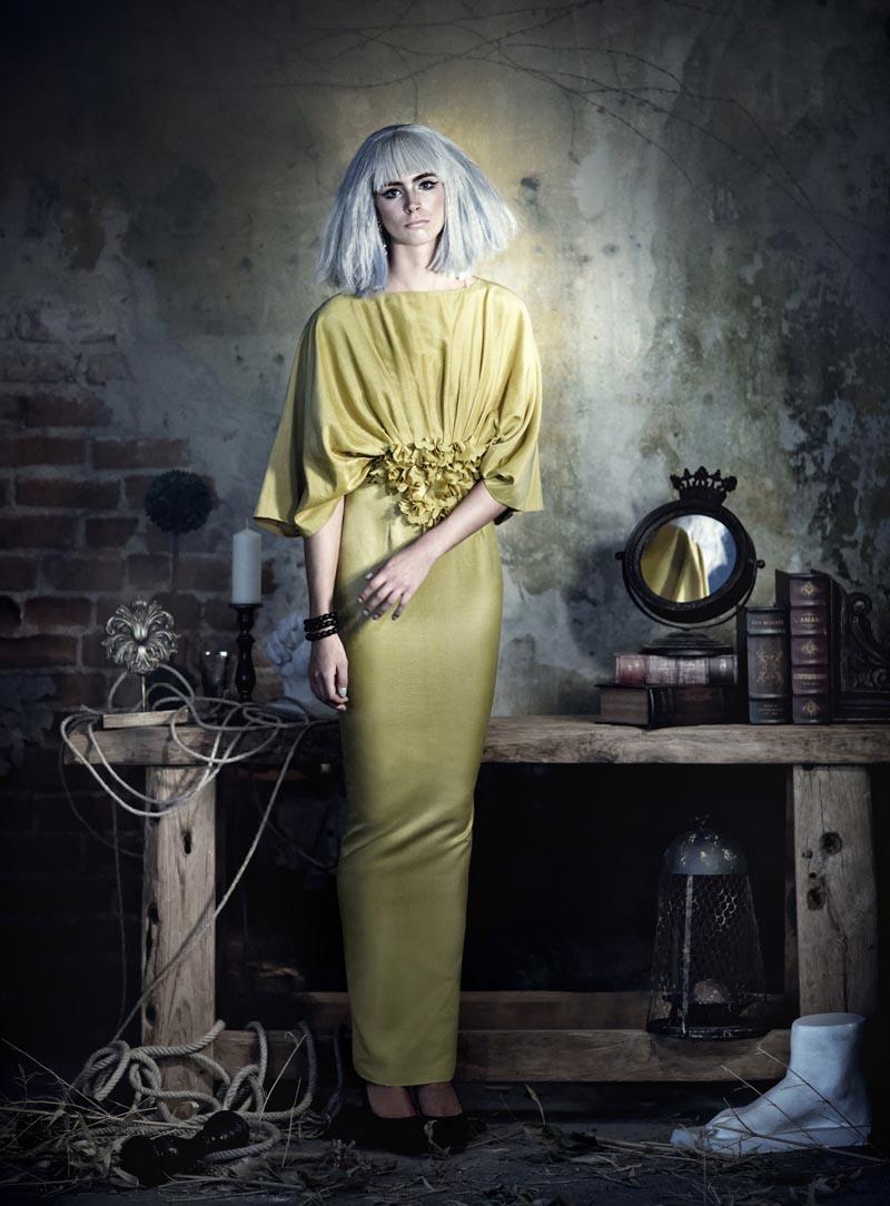 rose11 Koray Парлак Побеги Гламур с краю для Elele Magazine Ноябрь 2012