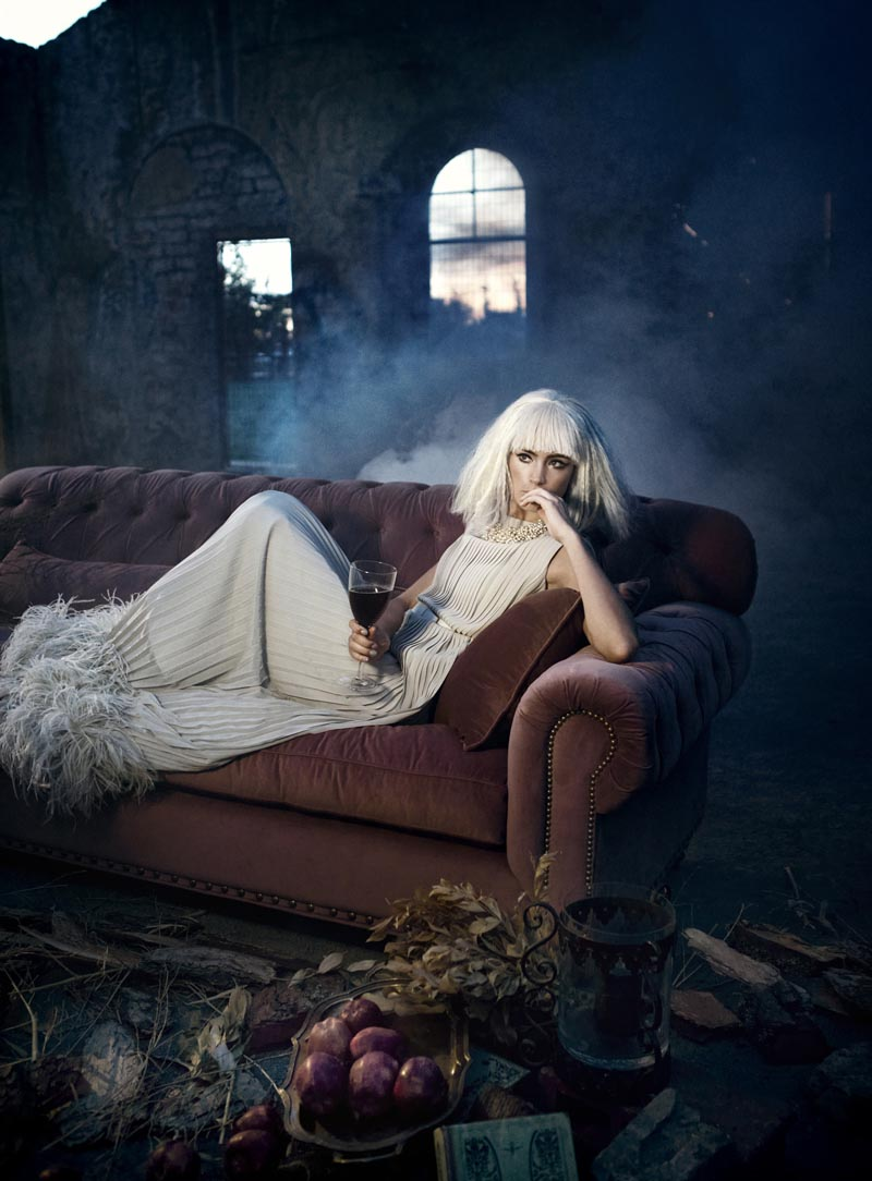 rose7 Koray Парлак Побеги Гламур с краю для Elele Magazine Ноябрь 2012