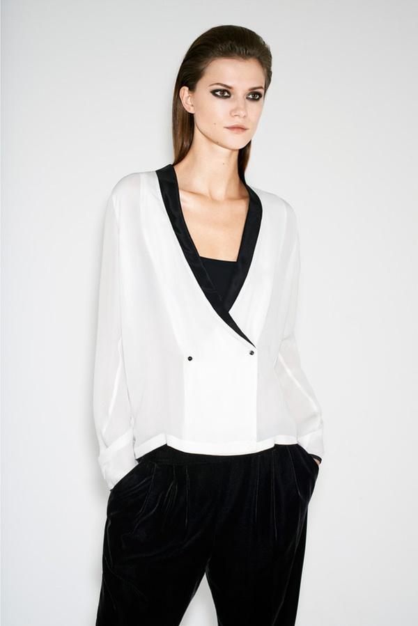 KasiaZara11 Kasia Struss is Party Ready for Zaras Twelve Holiday 2012 Lookbook