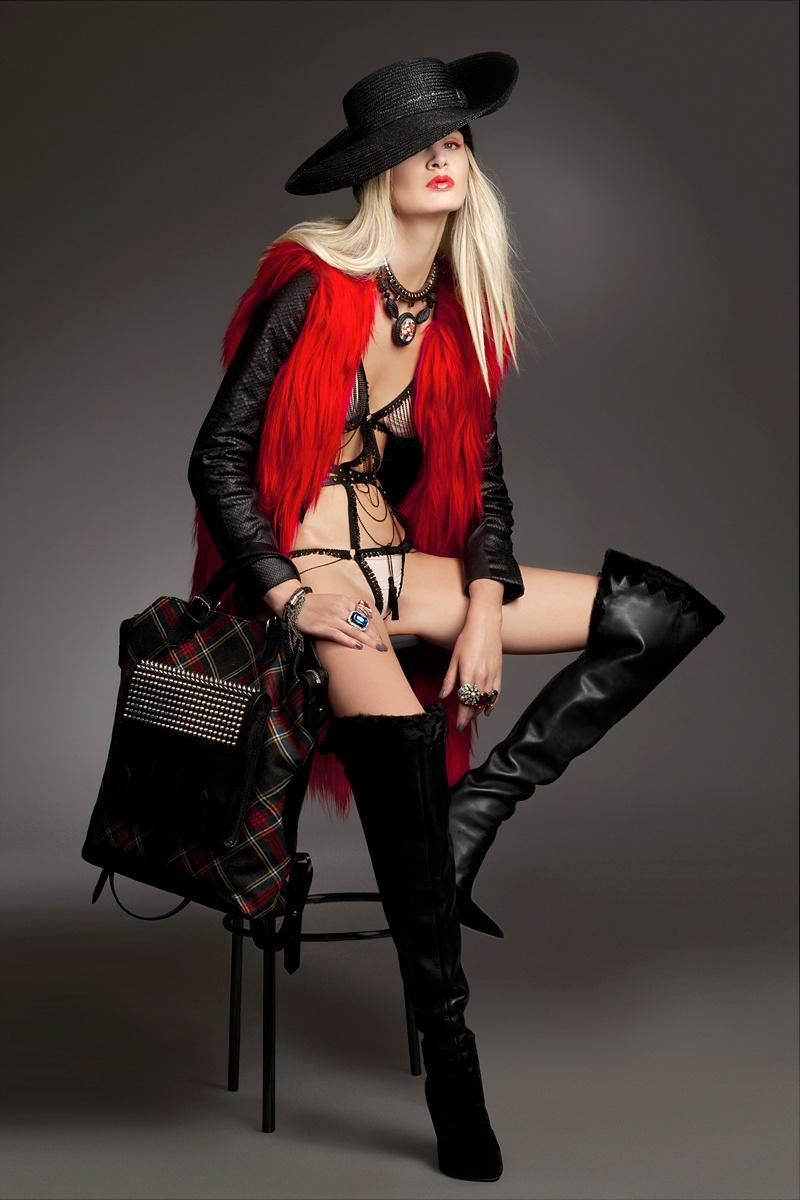gloss6 Виктория Sekrier Rocks Роскошный стиль для блеска Словения Дженни Brough