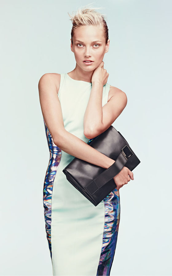 hugo1 Karmen Pedaru Lands the Hugo by Hugo Boss Spring 2013 Campaign