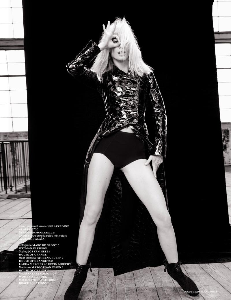 Наташа Наташа vojnovic10 Войновича Позы для Марк де Гроот в Vogue выпуск Нидерланды декабря