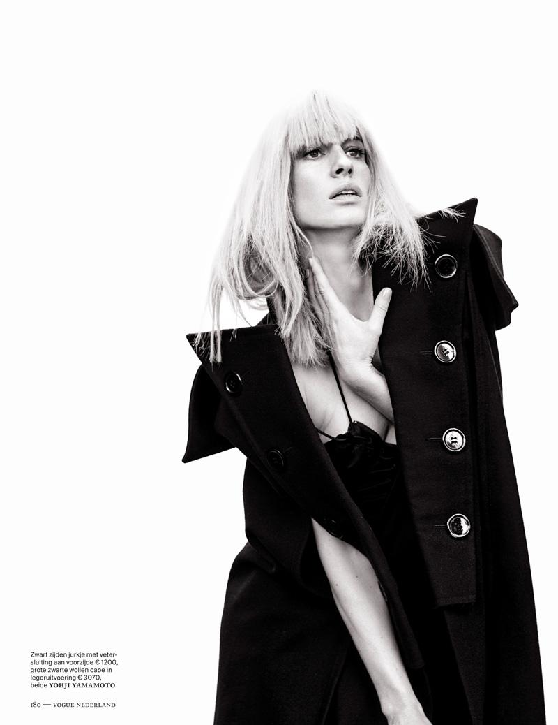 Наташа Наташа vojnovic8 Войновича Позы для Марк де Гроот в Vogue выпуск Нидерланды декабря