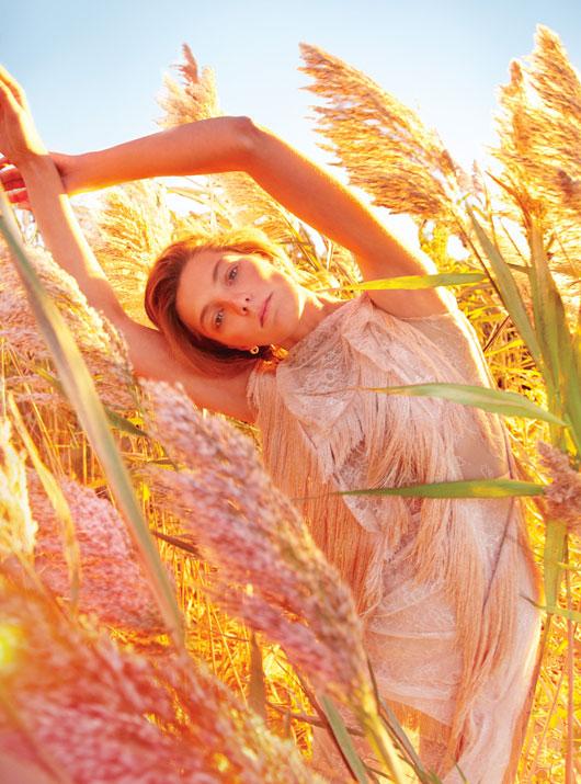 DariaEarthW3 Daria Werbowy это рай на земле для W Выпуск журналы январе Райан МакГинли
