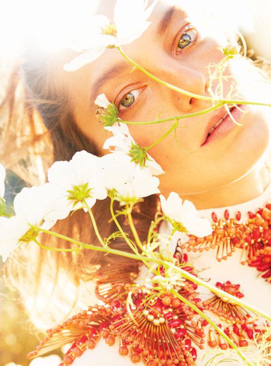 DariaEarthW6 Daria Werbowy это рай на земле для W Выпуск журналы январе Райан МакГинли