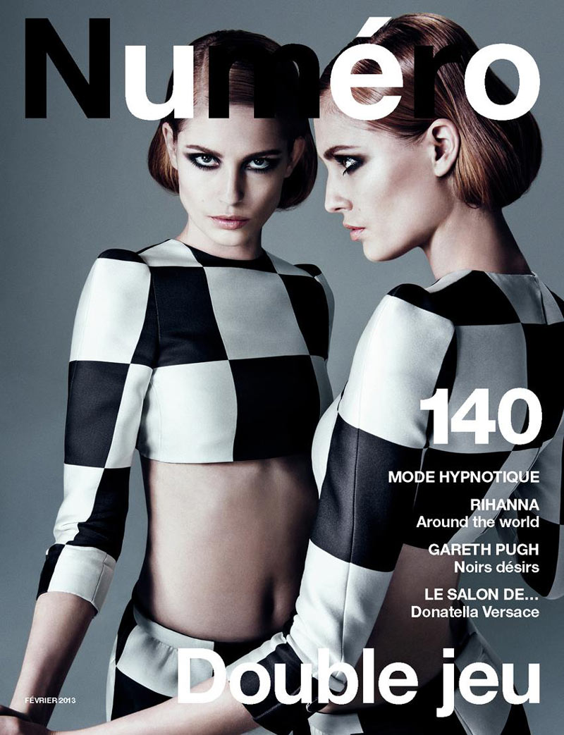 Numero Magazine Cover featuring Nadja Bender in Louis Vuitton Spring 2013