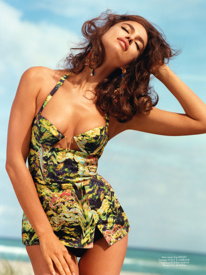cr magazine bruce weber12 Alessandra Ambrosio and Irina Shayk Head to Miami with Bruce Weber for CR Fashion Book