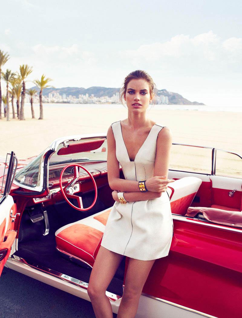 rianne ten haken elle spain5 Rianne ten Haken Poses for Xavi Gordo in Elle Spains March 2013 Cover Shoot