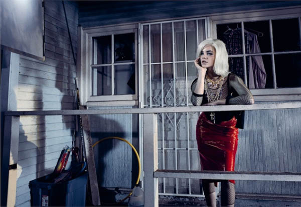 BarbaraPalvinMarieClaire5 Barbara Palvin is a Material Girl for Marie Claire Italia April 2013 by Jacques Olivar