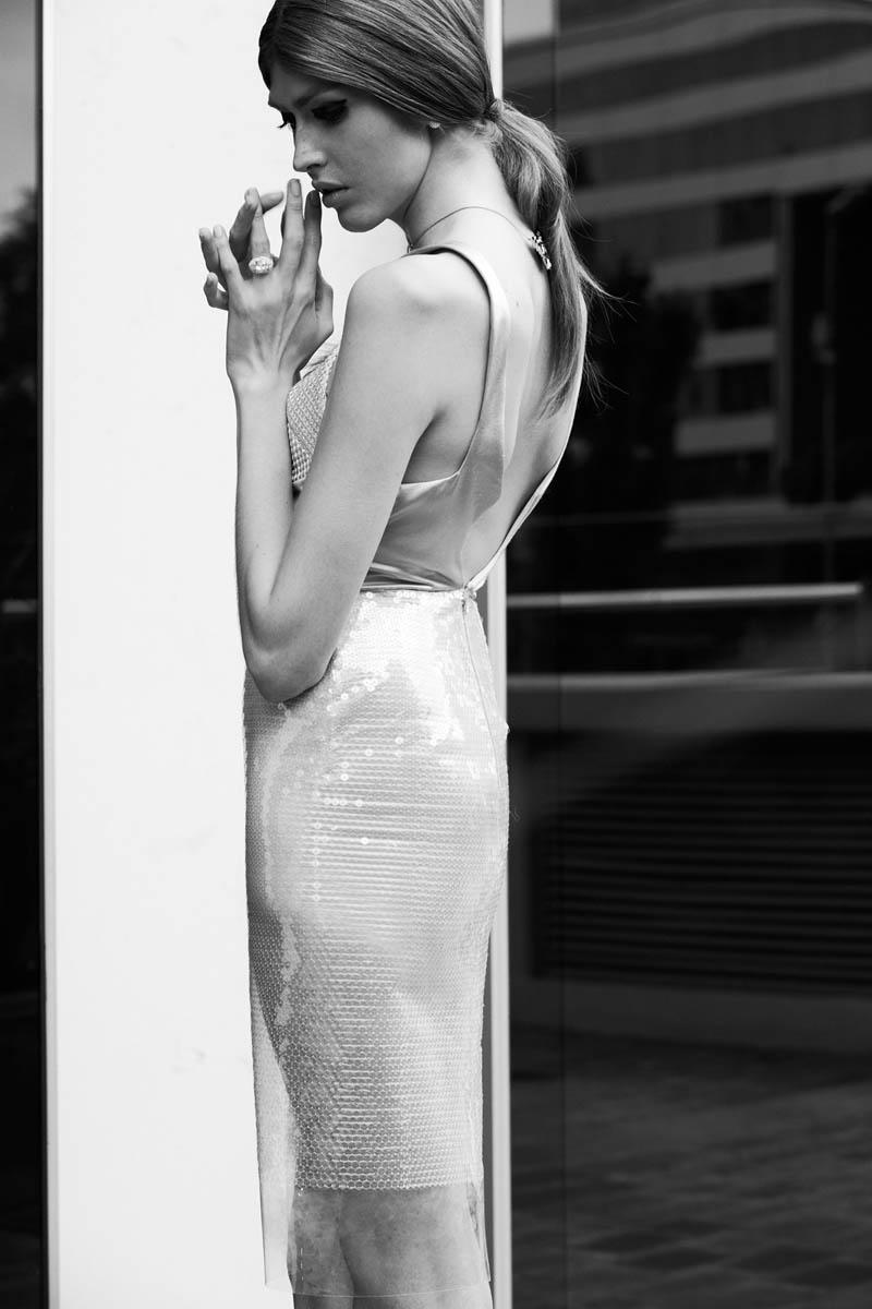 Dafne cejas4 Dafne Cejas från Josefina Bietti i svartvitt för Fashion Gone Rogue