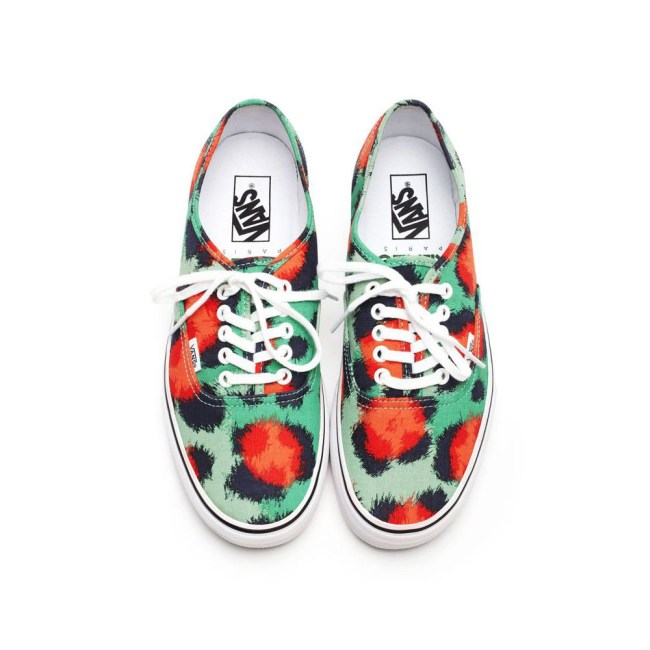 vans kenzo3 Vans x Kenzo Gets Colorful, Jungle Inspired for Spring/Summer 2013 Collection