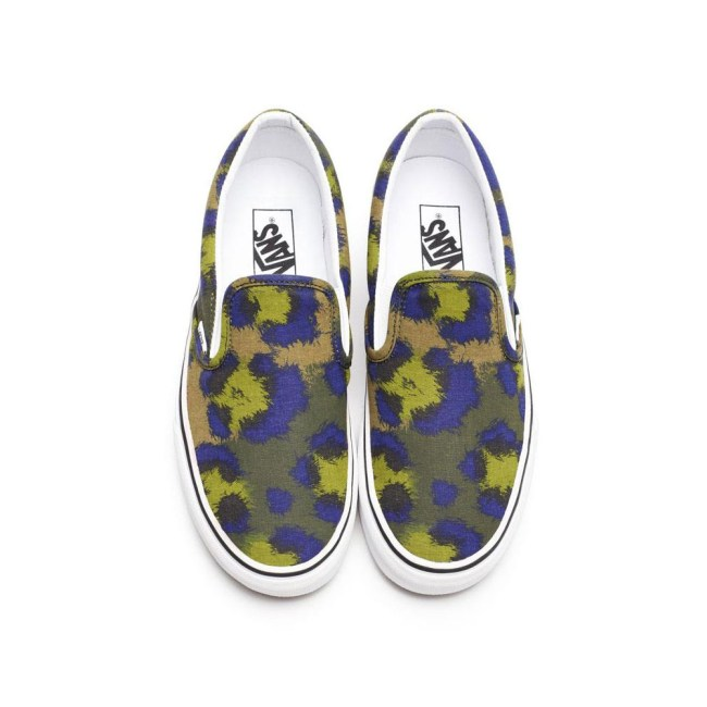 vans kenzo4 Vans x Kenzo Gets Colorful, Jungle Inspired for Spring/Summer 2013 Collection