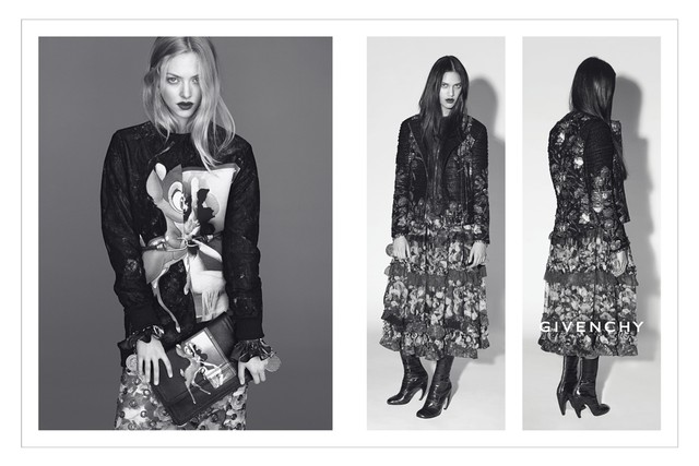 givenchy fall amanda seyfried From Saint Laurent to Armani: A Roundup of the Fall Campaigns (So Far)
