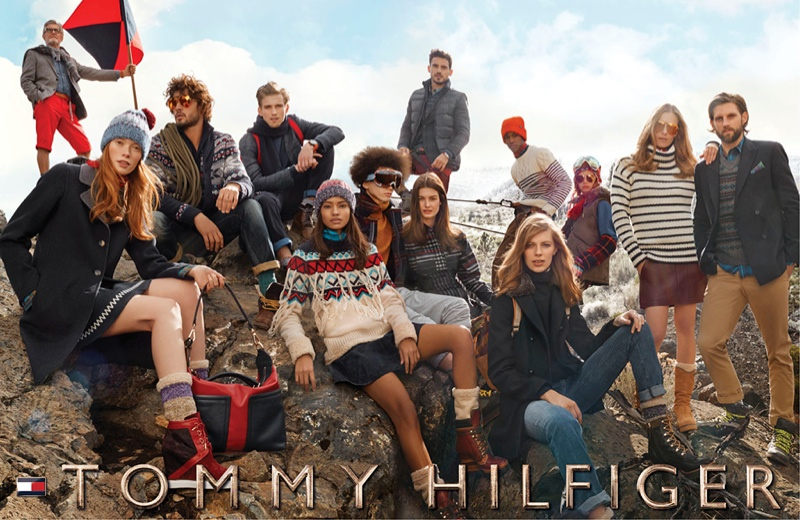 Tommy Hilfiger 2014 Fall/Winter Campaign