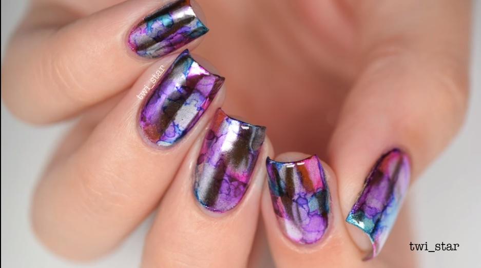 Sharpie Mirror Nails