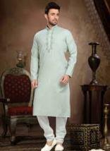 Cotton Embroidered Work Wedding Wear Kurta Pajama