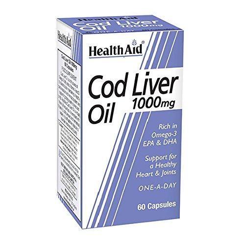 Healthaid Cod Liver Oil 1000 mg