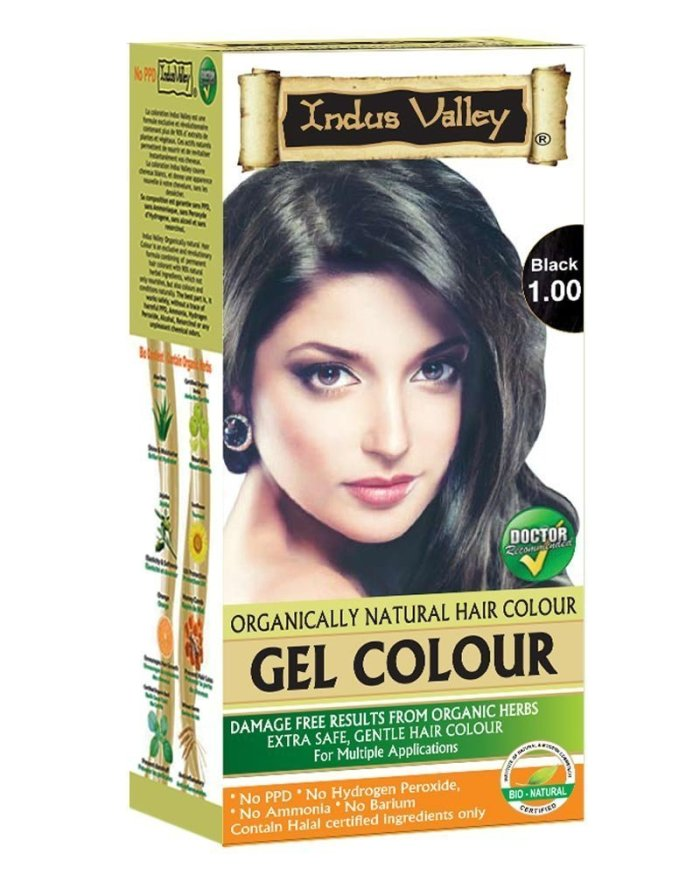 Indus Valley Permanent Herbal Hair Colour
