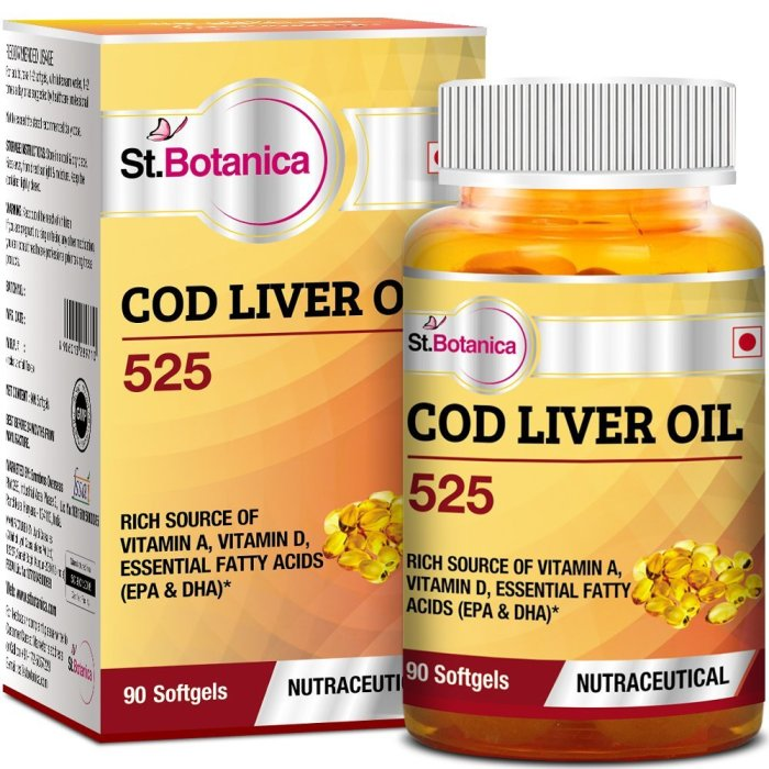 St.Botanica COD Liver Oil 525