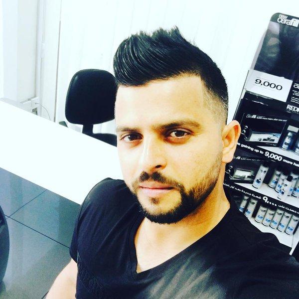 Suresh Raina Hairstyle