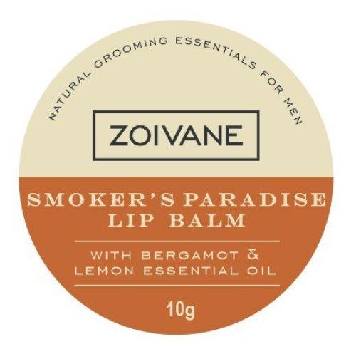 Zoivane Mens Natural Smokers Paradise Lip Balm