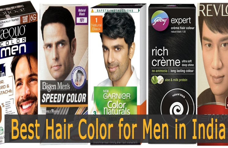 best hair color for men in india
