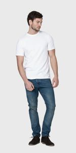 WHITE ORGANIC COTTON MEN'S T-SHIRT | The White T-Shirt Co