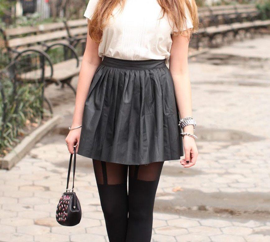 Stalk My Style: Leatherette Schoolgirl
