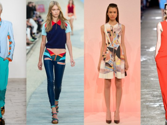 New York Fashion Week: 5 Trends for Spring/Summer 2014