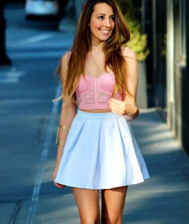 Stalk My Style: Spring Pastels & Bustier