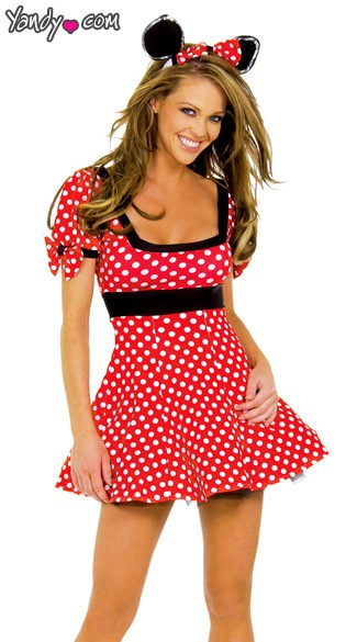 Best Sexy Halloween Costumes 2017 - Minnie Mouse