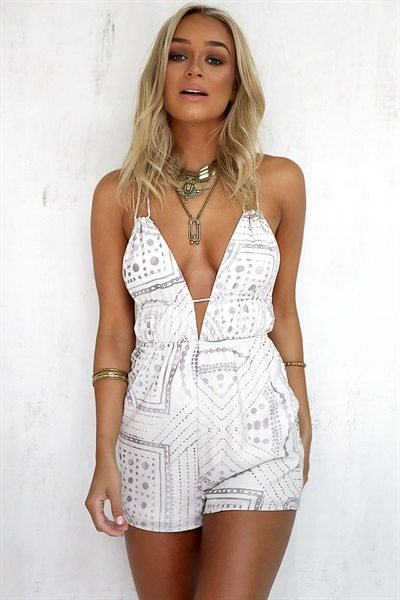 101 Stylish Summer Rompers Under $100