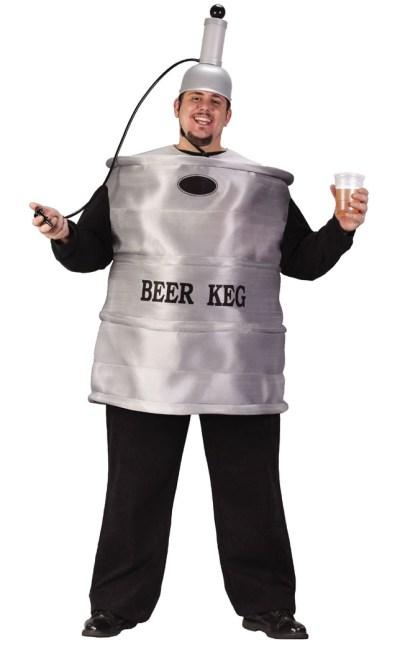 16 Hilarious men's halloween costumes - Beer Keg