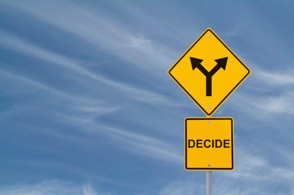 ForkInTheRoad-Decide