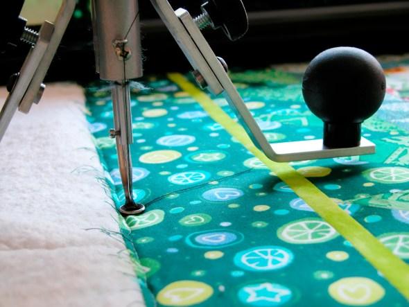 Textile Pattern Quilting Machine