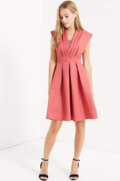 Little Mistress Terracotta Dress