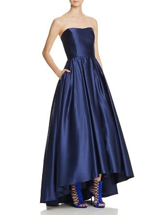 Avery G Strapless Gown - Bloomingdale's