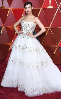 Sofia Carson - Monique Lhuillier dress