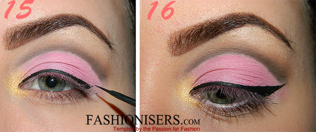 Party Makeup: Pink & Brown Cut Crease Eye Makeup Tutorial