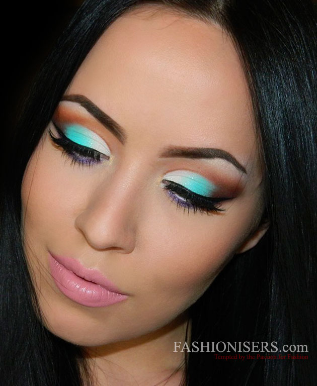 Energizing Mint Green Makeup Tutorial