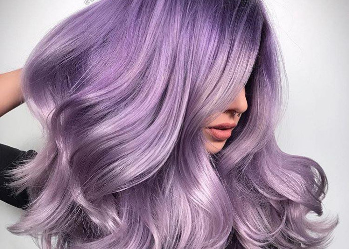 Pretty Pastel Hair Colors to Dye For lilac hair