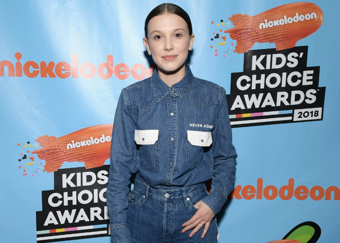 Kids' Choice Awards Millie Bobby Brown Honors Parkland Victims With Her Shirt