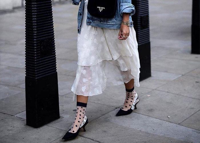 Socks & Heels Is the Statement Combo You Need This Spring