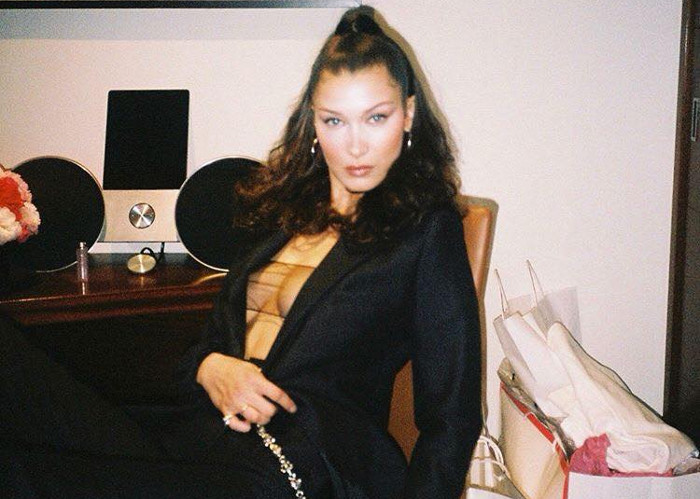 Bella Hadid Frees The Nipple After Plastic Surgery Accussations