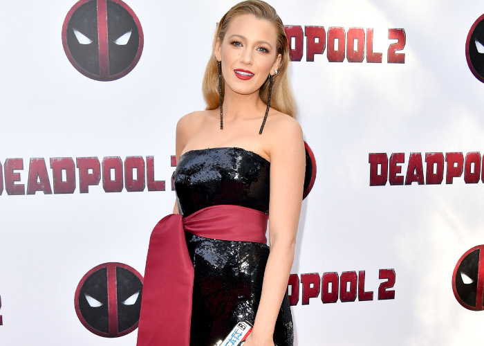 Blake Lively Stuns in a Deadpool Inspired Look