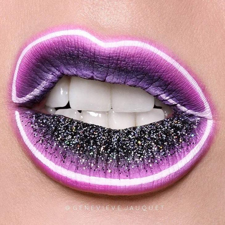The-Craziest-Beauty-Trends-We-Have-Seen-on-Instagram-neon-lips