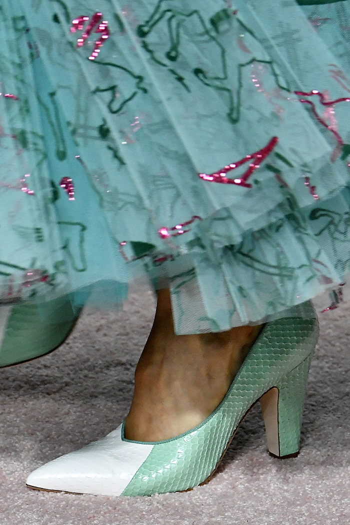The Fiercest Shoe Trends From Fashion Month Runways You Need To Know About carolina herrera